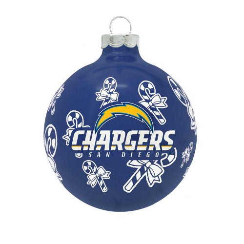 NFL San Diego Chargers Traditional 2 5/8″ Ornament