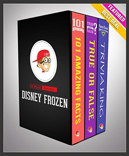 G Whiz - Disney Frozen: G Whiz Trilogy Set (Limited Edition): Fun Facts & Trivia Tidbits