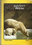 img - for Harper & Row Mathematics Grade 2 Teacher's Edition Spiral-bound book / textbook / text book