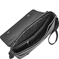 Fossil Aiden Messenger Bag - Black by Fossil Duffel Bags and Backpacks