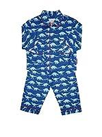 Toby Tiger Pijama Pjtbludino (Azul)