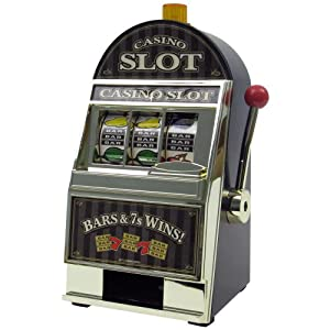John N. Hansen Company Casino Slot Machine Bank