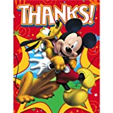 Disney Mickey Fun and Friends Thank You Notes Party Accessory