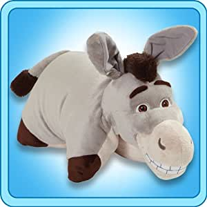 My Pillow Pets Authentic DreamWorks Donkey 18-Inch Folding Plush Pillow, Large