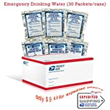 51jFyxiMzVL. SL160 SS160  Emergency Drinking Water (30 Packets/case) 9 Lbs (Misc.)
