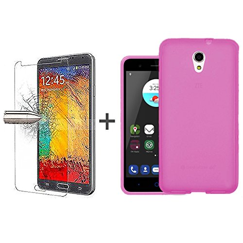 tbocr-pack-pink-tpu-silicone-gel-case-tempered-glass-screen-protector-for-zte-blade-v7-52-inches-sof
