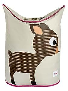 3 Sprouts Laundry Hamper, Deer