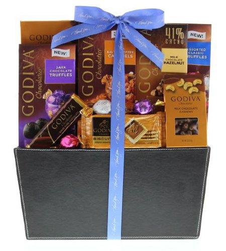 Wine.com Godiva Thank You Gift Basket