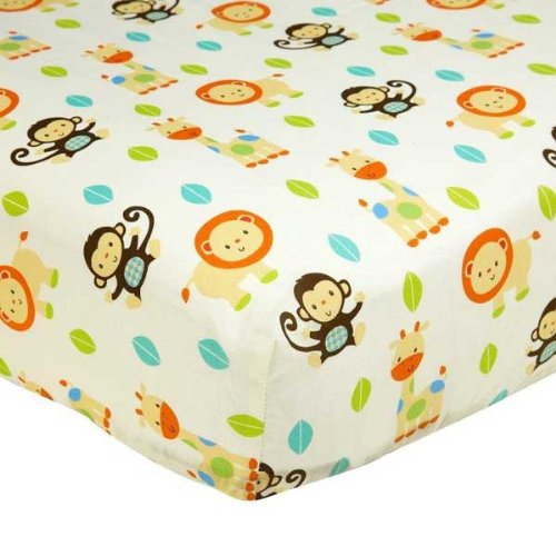 Fun in the Jungle Character Crib Sheet by Taggies - different from sheet in set - 1