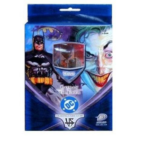 Batman VS. Joker 2-Player Trading Card Game Starter Set w/Rulebook, Game Mat