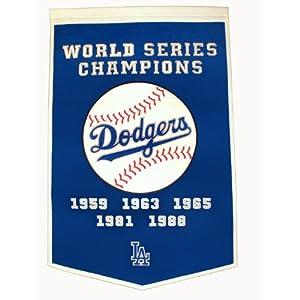 MLB Los Angeles Dodgers Dynasty Banner by Winning Streak
