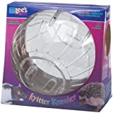 Lees Kritter Krawler Jumbo Exercise Ball, 10-Inch, Clear
