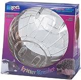 Lees Kritter Krawler Jumbo Exercise Ball, 10-Inch, Clear