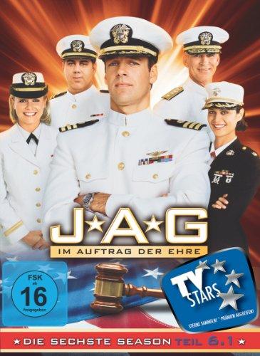 JAG: Im Auftrag der Ehre - Die sechste Season, Teil 6.1 [3 DVDs]