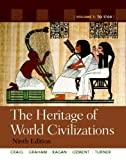 img - for The Heritage of World Civilizations: Volume 1 (9th Edition) book / textbook / text book