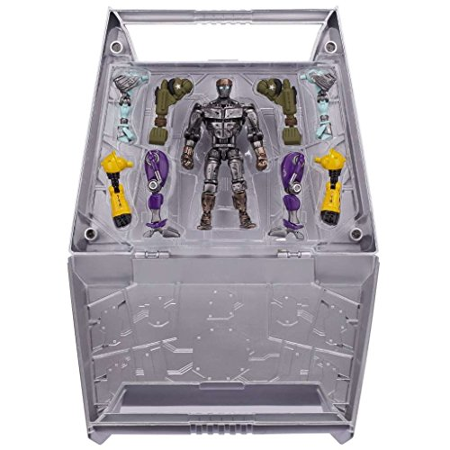 """Real Steel Build and Brawl Carrying Case + Atom 5"""" Basic Figure Set"""