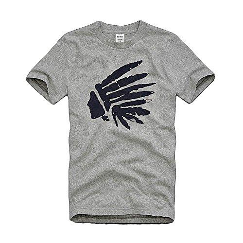 (カリホリ)Cali Holi Tシャツ 半袖 A/96157 グレー Mサイズ メンズ -