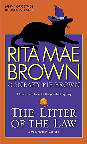 The Litter Of The Law: A Mrs. Murphy Mystery front-939493