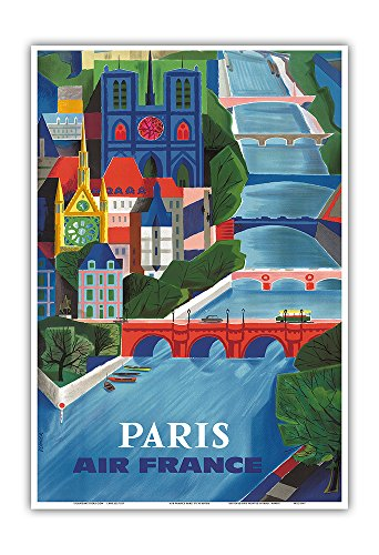 paris-france-air-france-the-seine-river-vintage-airline-travel-poster-by-jean-vernier-c1953-master-a