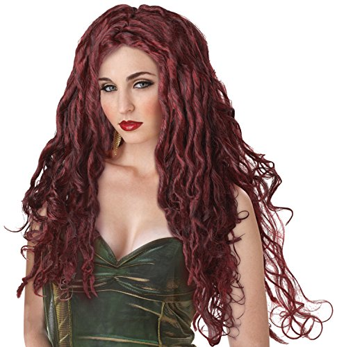 Medusa Wig Dark Red