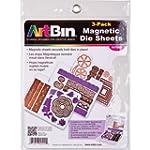 ArtBin 6979AB Magnetic Die Sheets, 3-...