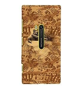 Fuson Premium Outdoor Printed Hard Plastic Back Case Cover for Nokia Lumia 920