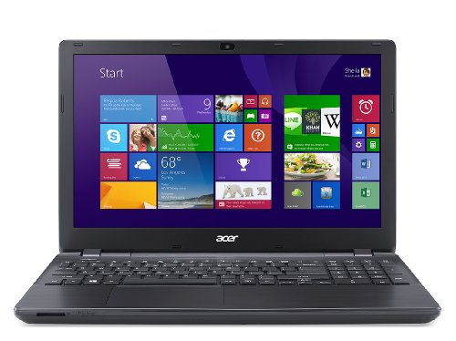 Acer Aspire E5-571-30CV PC Portable 15,6″ Noir (Intel Pentium 4 Go de RAM, Disque dur 500 Go, Carte Nvidia 1 Go, Windows 8.1)