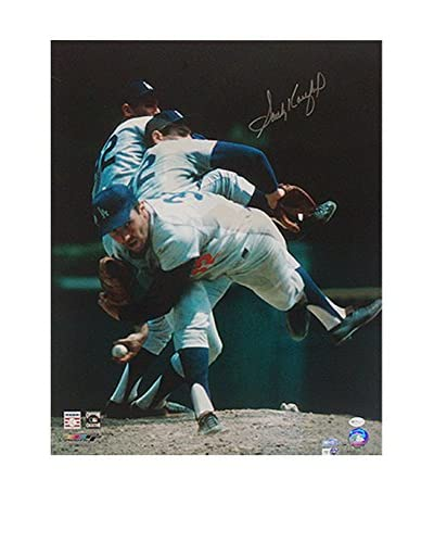 "Steiner Sports Memorabilia Sandy Koufax Multi Exposure Photo, 20"" x 16"""