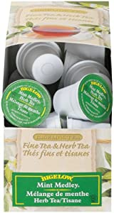 Bigelow Mint Medley Tea, K-Cup Portion Pack for Keurig Brewers, 24-Count (Pack of 2)