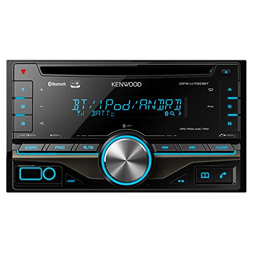 CD/USB/iPod/Bluetoothレシーバー MP3/WMA/AAC/WAV対応 DPX-U720BT