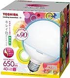 東芝 E-CORE(イー・コア) LED電球 <キレイ色-kireiro-> ボール電球形9.6W(高演色タイプ・ボール電球40W相当・650ルーメン・昼白色)外径95mmタイプ LDG10N-D/G95
