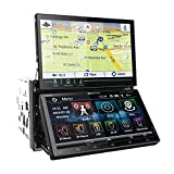 Soundstream VRN-DD7HB Double DIN Bluetooth In-Dash Car Stereo Receiver (Color: BLACK, Tamaño: 7.0 inches)