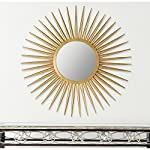 Safavieh Home Collection Sun Flair Mirror, Gold