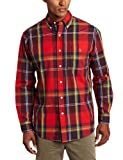 U.S. Polo Assn. Mens Shirt With Large Plaid Pattern