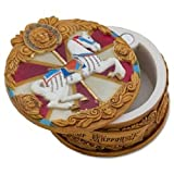 Disney Fantasyland King Arthur Carrousel Carousel Horse Pokitpal Merry Go Round Pillbox Collectible