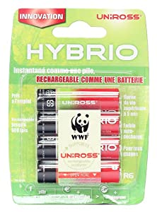 Uniross X-Press 300 2100 Hybrio Caricabatterie Charger