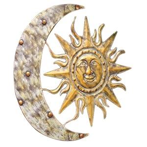 Amazon Com Gardman 8415 Aztec Sun And Moon Wall Art 26
