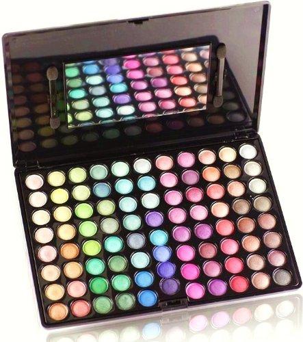 Shany Shimmer Eyeshadow Palette, 50/50 Shimmer Matte, 13-Ounce