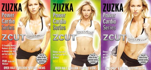Zuzka Light ZCUT Power Cardio Series Workout DVD