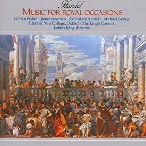 Handel: Music for Royal Occasions from Hyperion