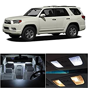 ledpartsnow toyota 4runner 2003 2016 xenon white premium led interior lights package. Black Bedroom Furniture Sets. Home Design Ideas