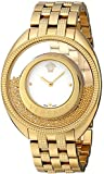 Versace Women's 86Q70D002 S070 Destiny Spirit Floating Micro Spheres Gold IP Steel Watch