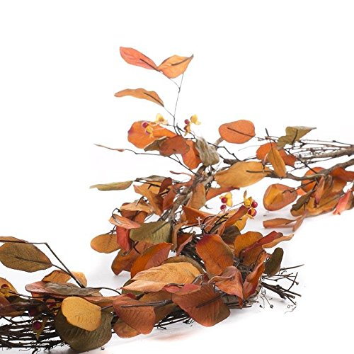 Factory Direct Craft® plentiful Artificial Fall Leaf and Bittersweet Garland for Home Decor, Crafting and Displaying