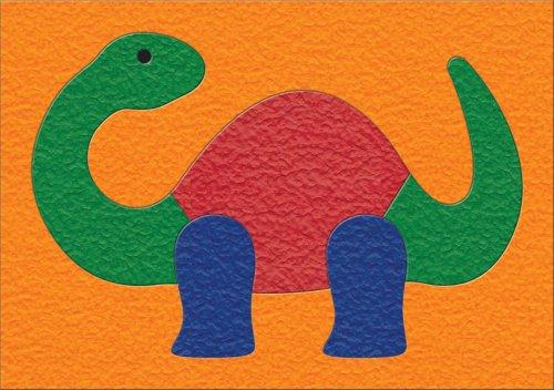 Lauri Crepe Rubber Puzzle - Dinosaur