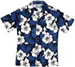 RJC Boys Size 2 to 18 White Hibiscus...