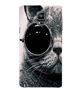 EPICCASE Swag cat Mobile Back Case Cover For Samsung Galaxy Note 4 (Designer Case)