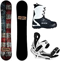 Camp Seven Drifter and Summit Men's Complete Snowboard Package 2015 by Camp Seven