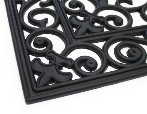 Decorative Heavy Duty Doormat Rubber Outdoor Decor Welcome