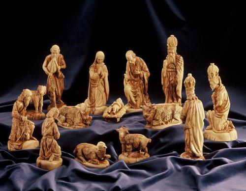 Presepi Di Legno Betlemme : Test test doang statuette per il presepio in stile classico
