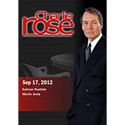 Charlie Rose - Salman Rushdie / Martin Amis (September 17, 2012)